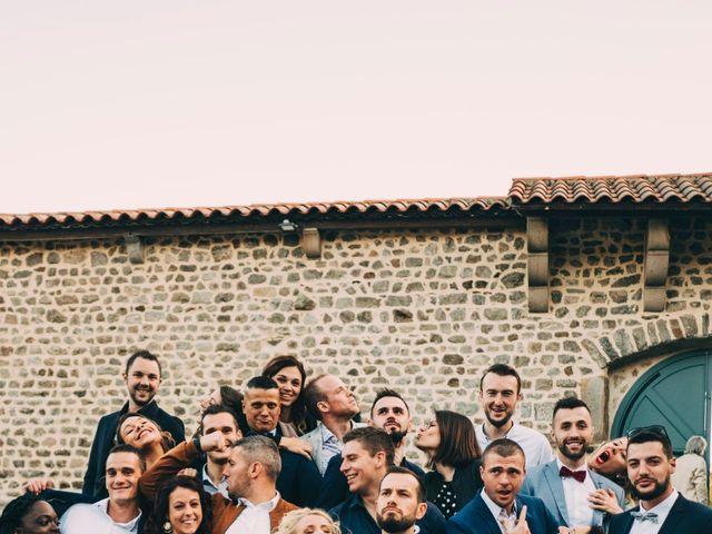 Le mariage de Mathieu et Manon à Saint-Genest-Malifaux, Loire 56