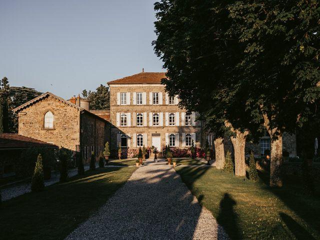 Le mariage de Bertrand et Chloé à Lemps, Ardèche 3