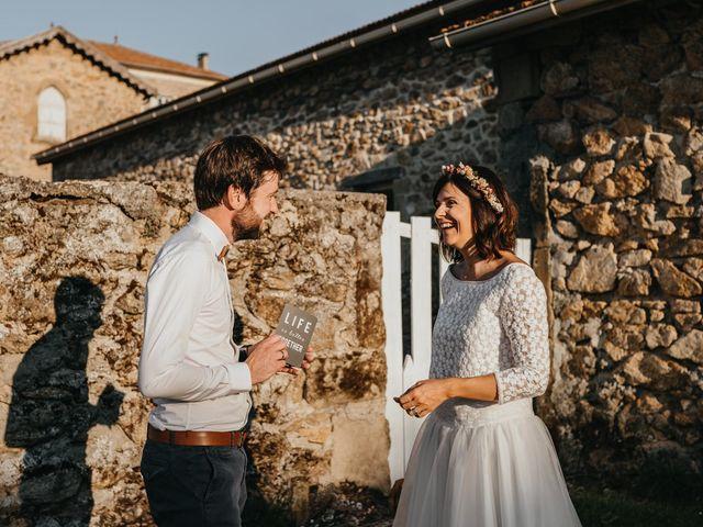 Le mariage de Bertrand et Chloé à Lemps, Ardèche 26