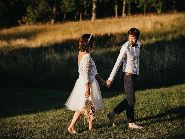 Le mariage de Bertrand et Chloé à Lemps, Ardèche 33