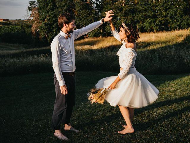 Le mariage de Bertrand et Chloé à Lemps, Ardèche 34