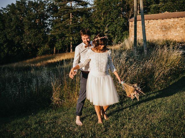Le mariage de Bertrand et Chloé à Lemps, Ardèche 35