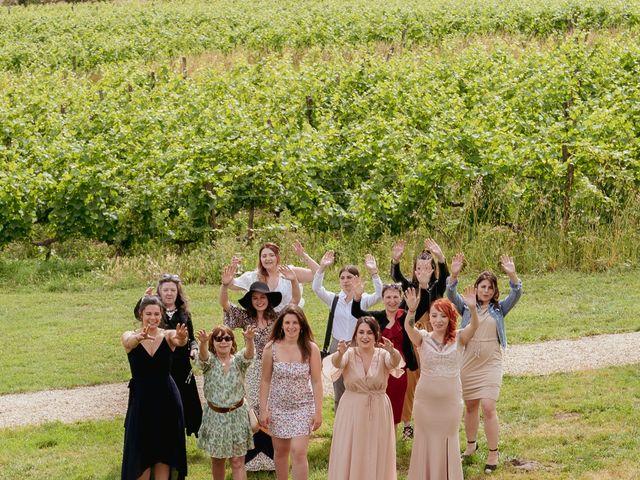Le mariage de Tony et Lucie à Migné-Auxances, Vienne 4