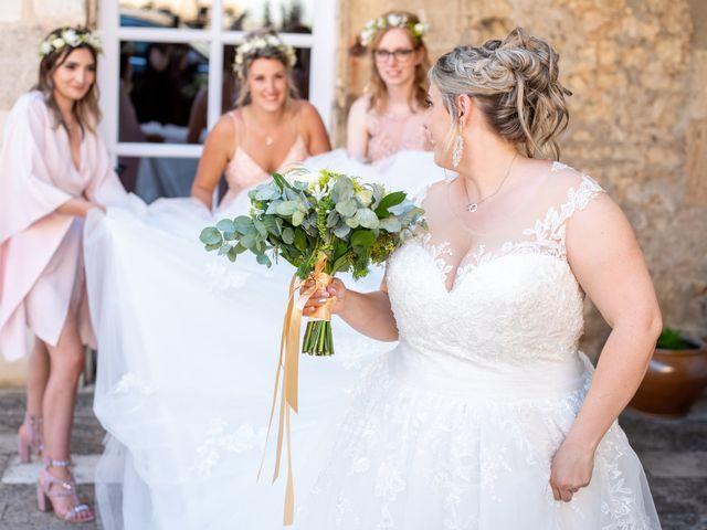 Le mariage de Ludovic et Cassandra à Turenne, Corrèze 26