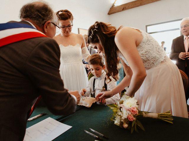 Le mariage de Clémence et Clémence à Charentilly, Indre-et-Loire 36