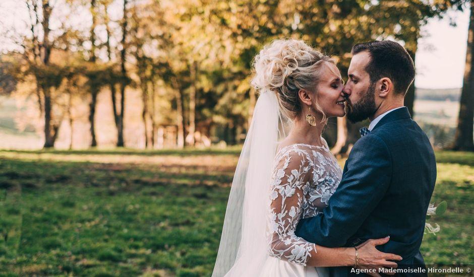 Le mariage de Mathieu et Manon à Saint-Genest-Malifaux, Loire