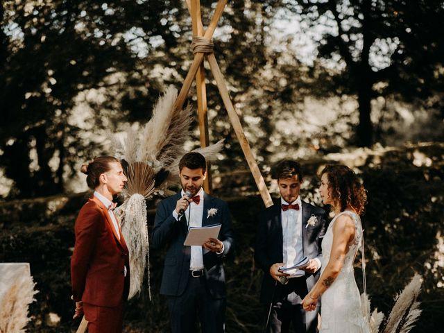 Le mariage de Théo et Chloé à Les Plans, Hérault 75