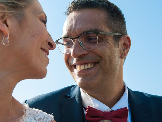Le mariage de David et Déborah à Fontaine-Française, Côte d'Or 1