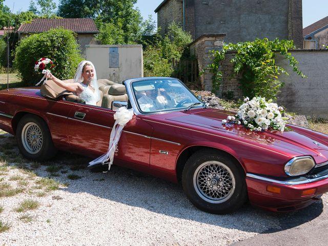 Le mariage de David et Déborah à Fontaine-Française, Côte d'Or 6