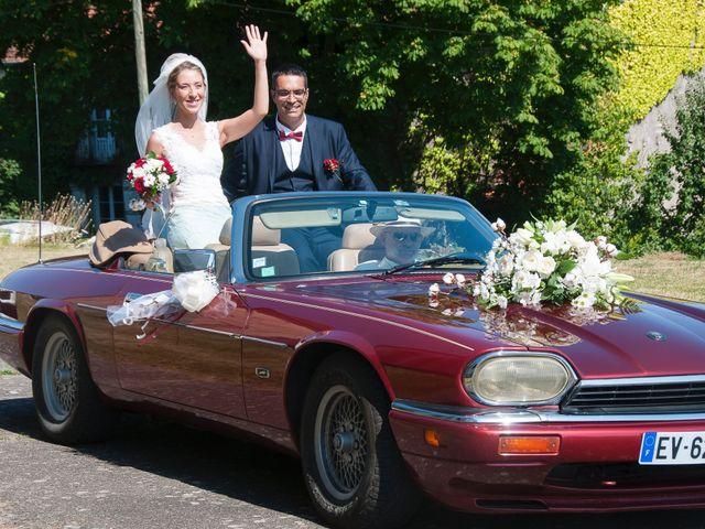 Le mariage de David et Déborah à Fontaine-Française, Côte d'Or 10
