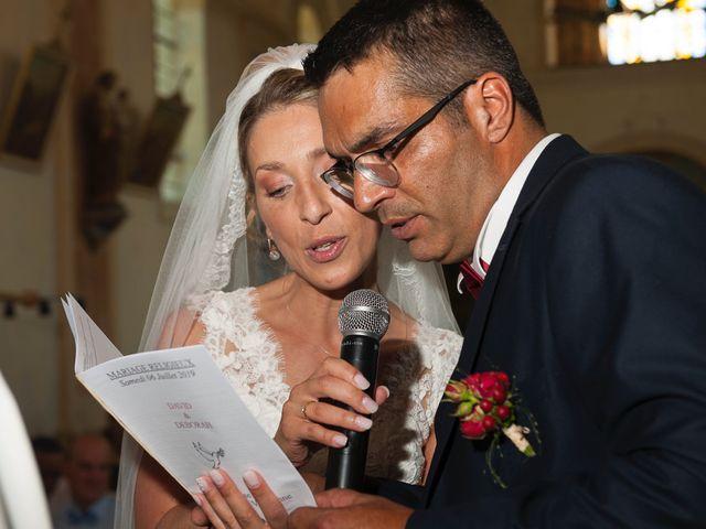 Le mariage de David et Déborah à Fontaine-Française, Côte d'Or 12