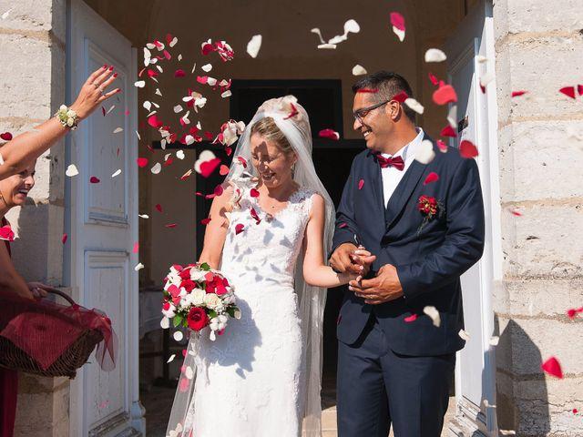 Le mariage de David et Déborah à Fontaine-Française, Côte d'Or 14