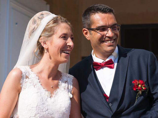Le mariage de David et Déborah à Fontaine-Française, Côte d'Or 15