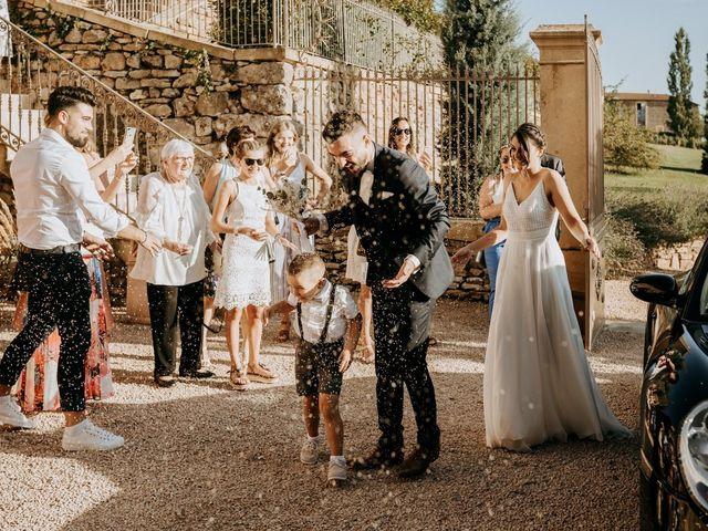 Le mariage de Thomas et Sophie à Saint-Laurent-d'Oingt, Rhône 21