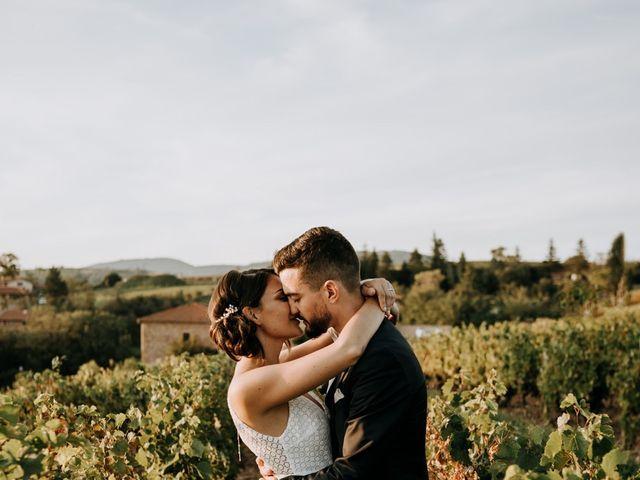 Le mariage de Thomas et Sophie à Saint-Laurent-d'Oingt, Rhône 28