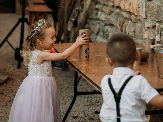 Le mariage de Thomas et Sophie à Saint-Laurent-d'Oingt, Rhône 30