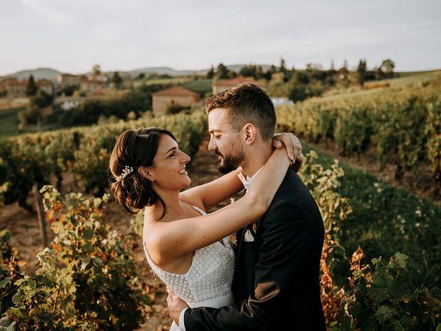 Le mariage de Thomas et Sophie à Saint-Laurent-d'Oingt, Rhône 35