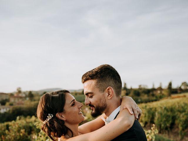 Le mariage de Thomas et Sophie à Saint-Laurent-d'Oingt, Rhône 36