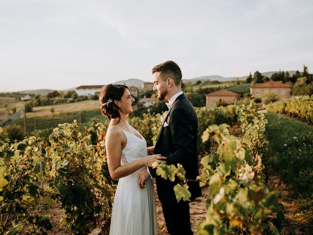 Le mariage de Thomas et Sophie à Saint-Laurent-d'Oingt, Rhône 37