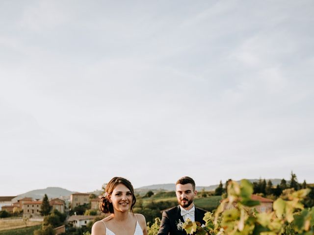 Le mariage de Thomas et Sophie à Saint-Laurent-d'Oingt, Rhône 38
