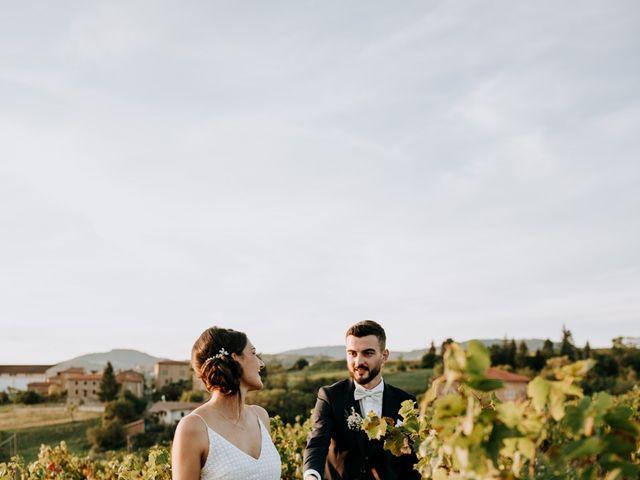 Le mariage de Thomas et Sophie à Saint-Laurent-d'Oingt, Rhône 39