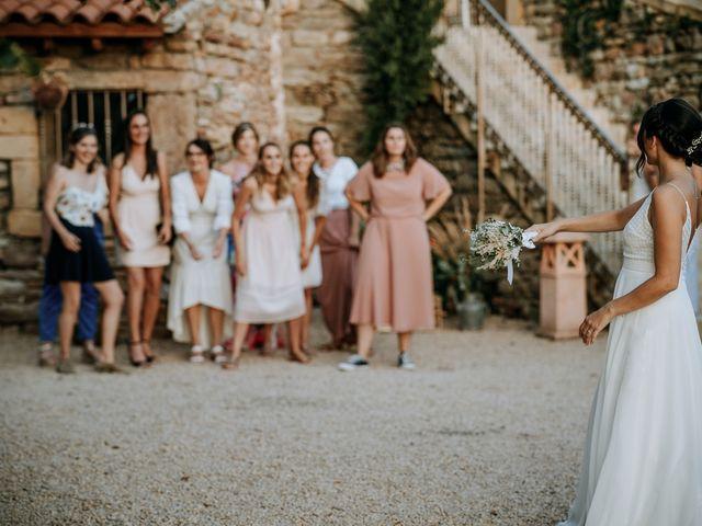 Le mariage de Thomas et Sophie à Saint-Laurent-d'Oingt, Rhône 45