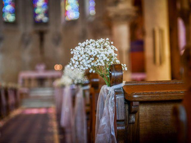 Le mariage de Vincent et Marie Cécile à Biard, Vienne 69