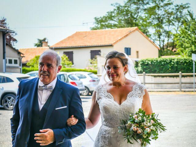Le mariage de Vincent et Marie Cécile à Biard, Vienne 72