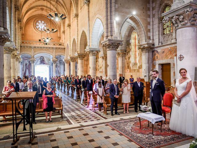 Le mariage de Vincent et Marie Cécile à Biard, Vienne 74