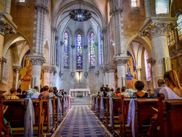 Le mariage de Vincent et Marie Cécile à Biard, Vienne 75