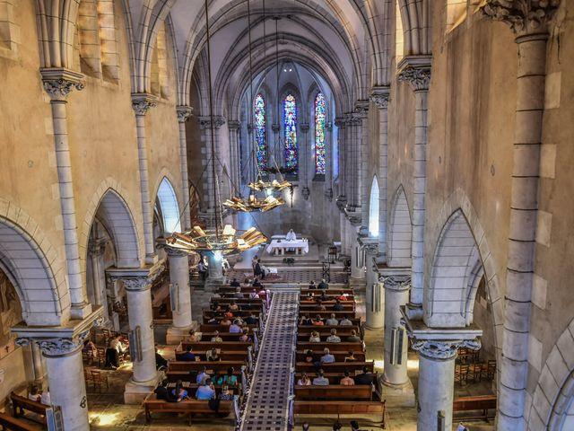 Le mariage de Vincent et Marie Cécile à Biard, Vienne 77