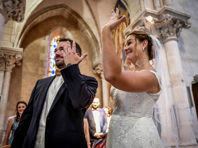 Le mariage de Vincent et Marie Cécile à Biard, Vienne 80