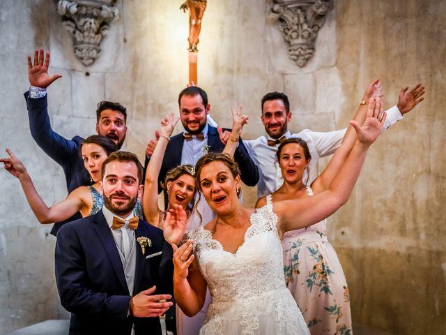 Le mariage de Vincent et Marie Cécile à Biard, Vienne 84
