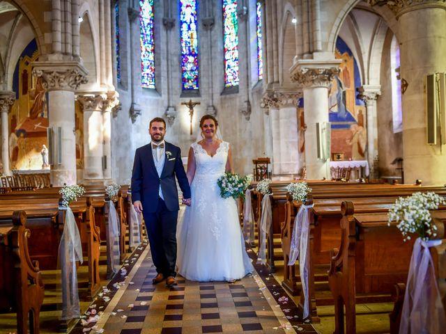 Le mariage de Vincent et Marie Cécile à Biard, Vienne 86