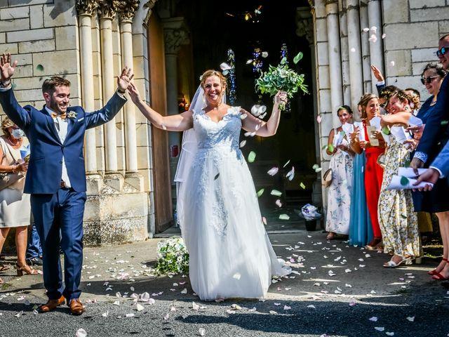 Le mariage de Vincent et Marie Cécile à Biard, Vienne 87