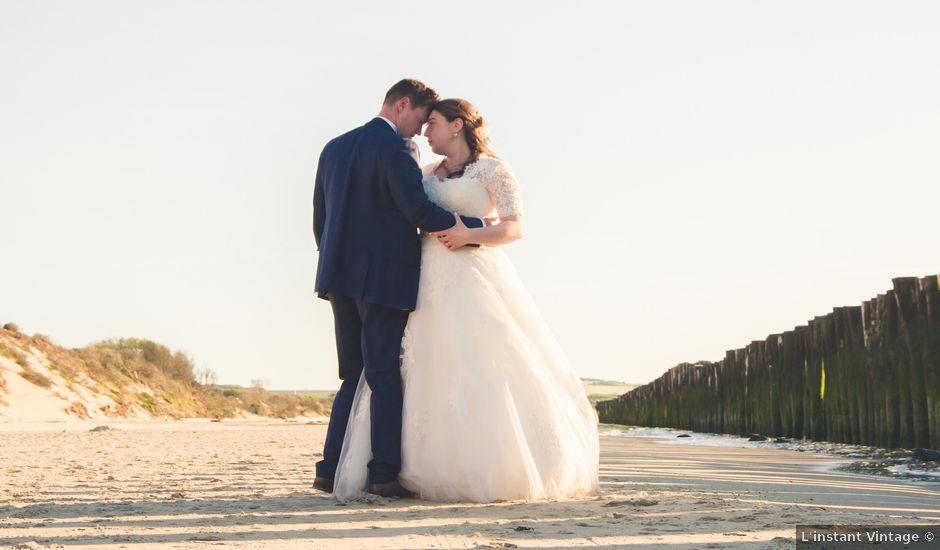 Le mariage de Vincent et Anne Sophie à Wissant, Pas-de-Calais