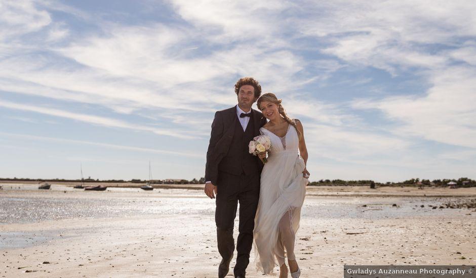Le mariage de Louis et Alessandra à Loix, Charente Maritime