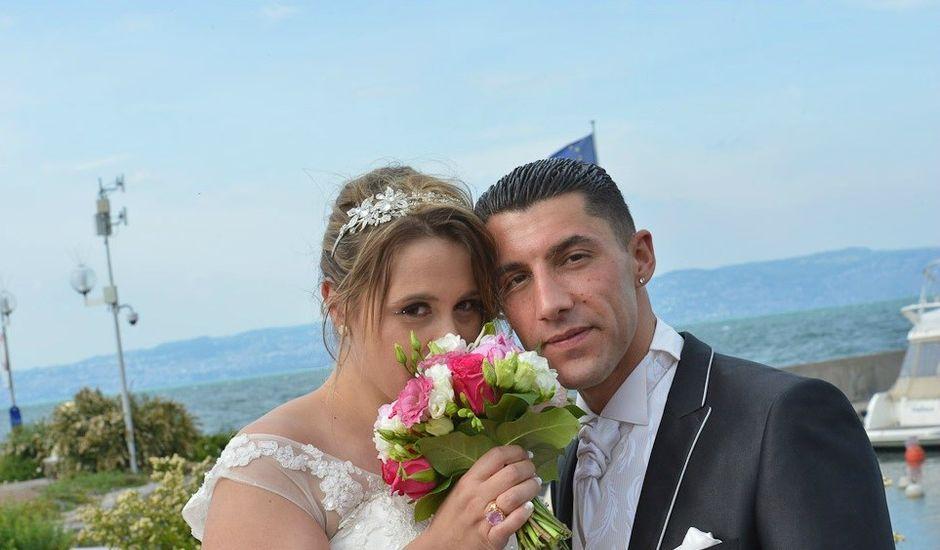 Le mariage de Youcef et Sophie à Évian-les-Bains, Haute-Savoie