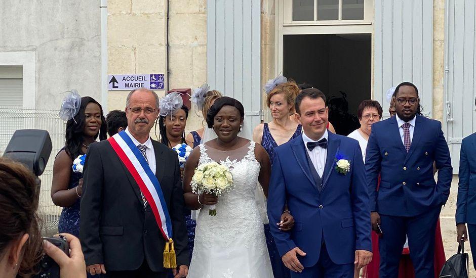 Le mariage de Anzeta et Samuel à Vandré, Charente Maritime