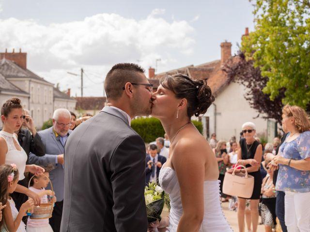 Le mariage de Cédric et Emilie à Châtillon-sur-Cher, Loir-et-Cher 19