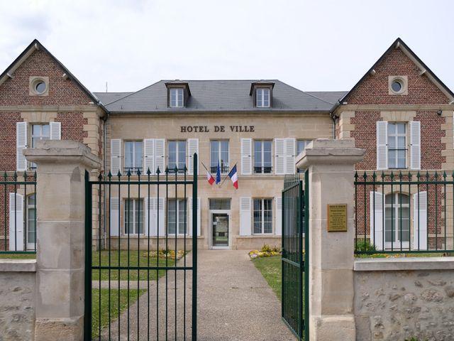 Le mariage de Mathieu et Tiffany à Bailleval, Oise 1