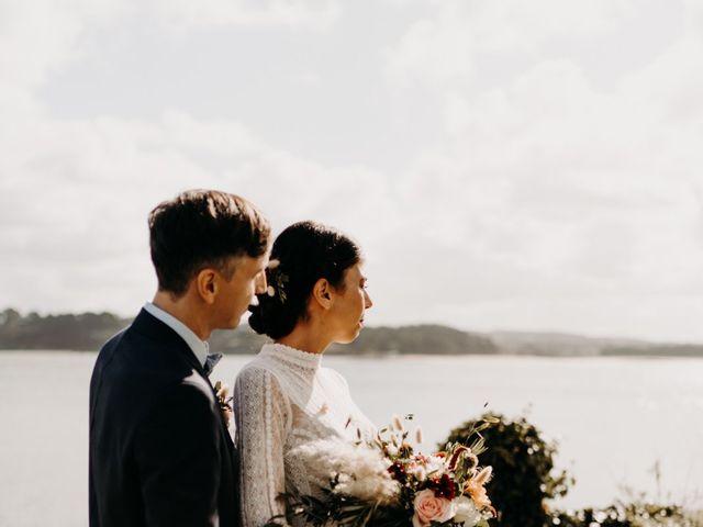 Le mariage de Christian et Margaux à Locquirec, Finistère 12