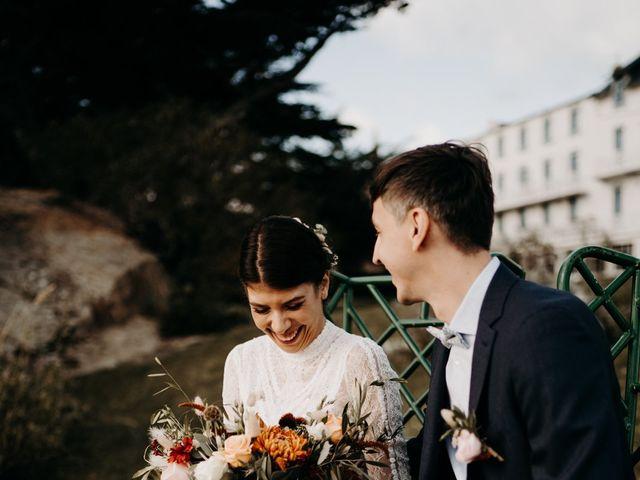 Le mariage de Christian et Margaux à Locquirec, Finistère 16