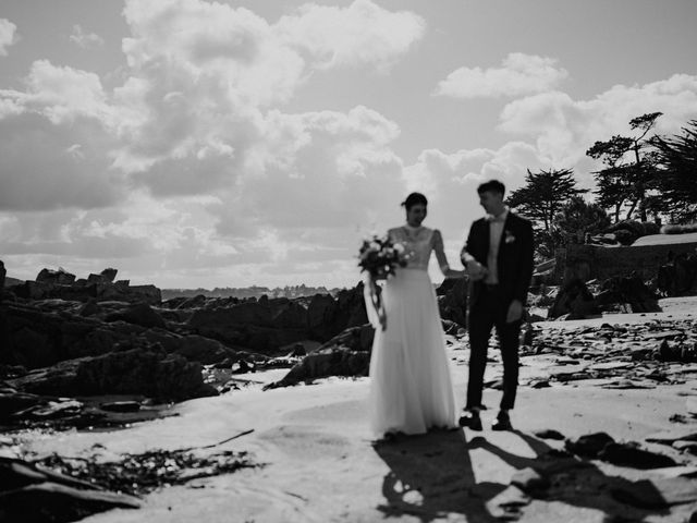 Le mariage de Christian et Margaux à Locquirec, Finistère 25