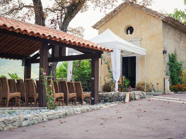 Le mariage de Kevin et Audrey à Entrevaux, Alpes-de-Haute-Provence 7