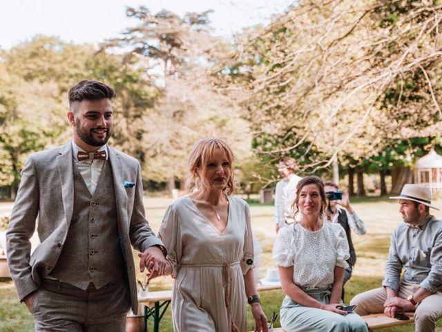 Le mariage de Dorian et Laurianne à La Jaille-Yvon, Maine et Loire 68