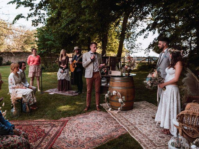 Le mariage de Dorian et Laurianne à La Jaille-Yvon, Maine et Loire 70