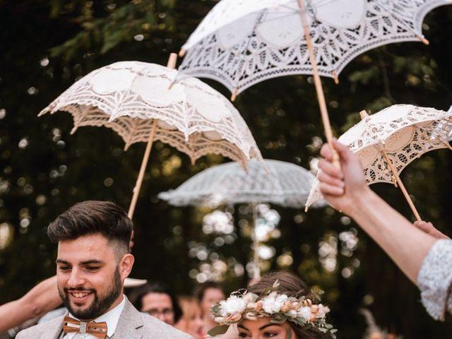 Le mariage de Dorian et Laurianne à La Jaille-Yvon, Maine et Loire 81