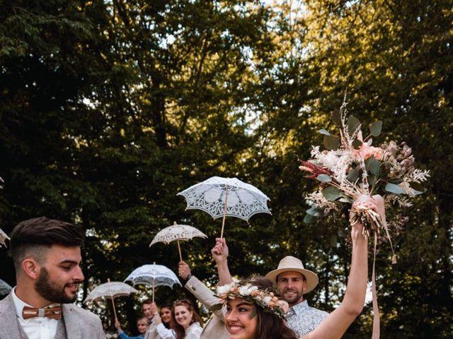 Le mariage de Dorian et Laurianne à La Jaille-Yvon, Maine et Loire 82