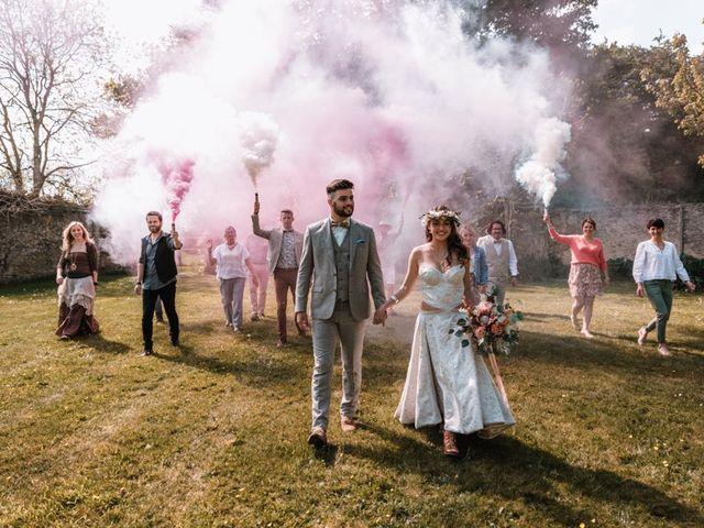 Le mariage de Dorian et Laurianne à La Jaille-Yvon, Maine et Loire 83